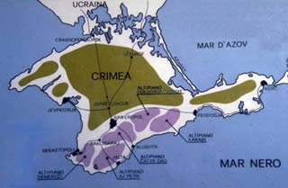 Crimea cartina