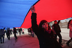 Concerns Grow In Ukraine Over Pro Russian Demonstrations In The Crimea Region
