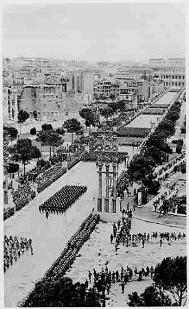 apertura fori imperiali 1930