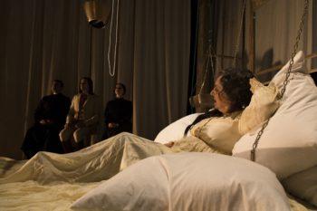Gea Martire in Ferdinando di Ruccello regia Nadia Baldi