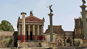 Roma a Cinecitta
